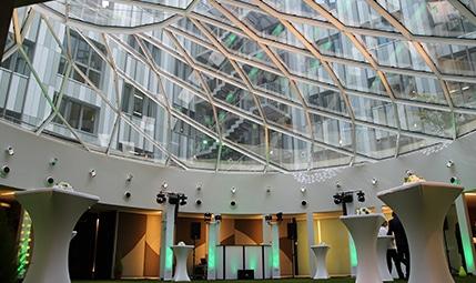 inauguration de nouveau bureau à paris, buffet dinatoire, évènementiel