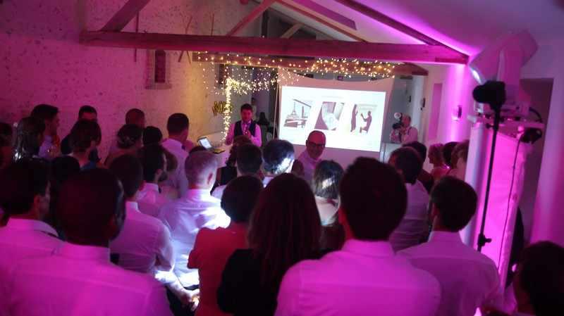 présentation ouverture de bal mariage dj